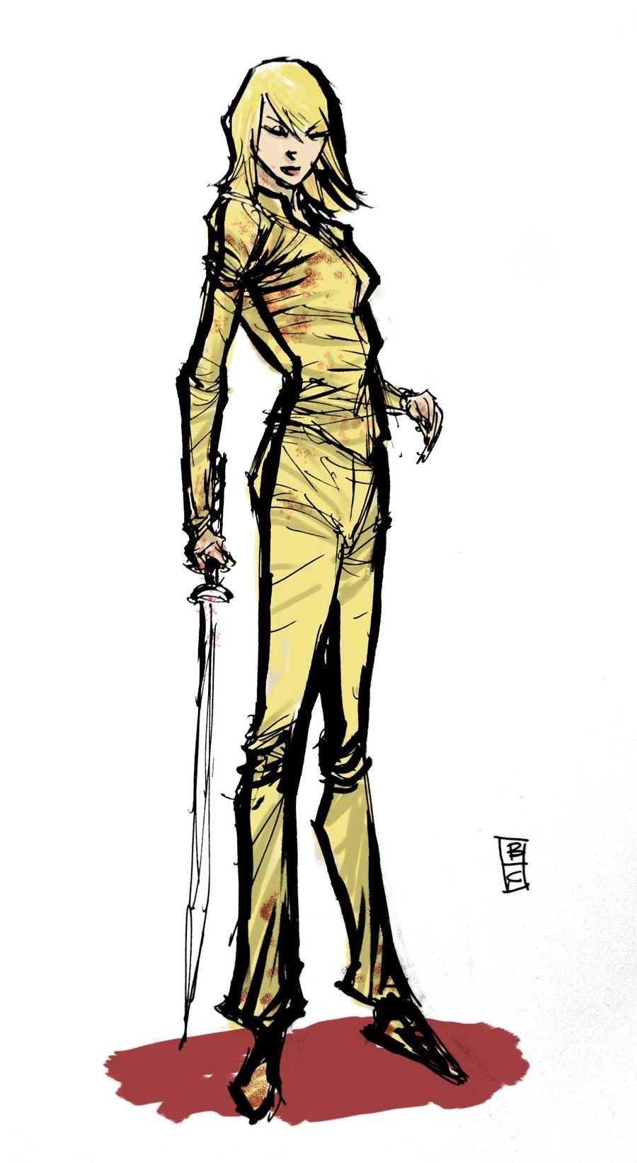 The Bride - Kill Bill - Brian Ching