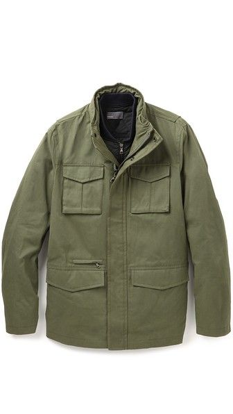 Military 3 In 1 Waxed Cotton Jacket Waxed Cotton Jacket