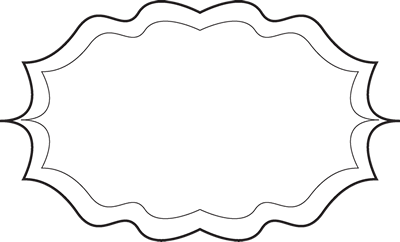 Fancy Black And White Frame Free Clip Art Frames Black And White Frames Frame Clipart White Frame