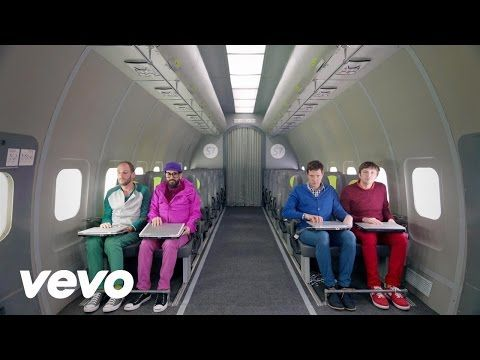 Ok Go The Writing S On The Wall Lyrics Ok Go Weightless Science Art And Joy Ok Go Latest Music Videos Music Videos