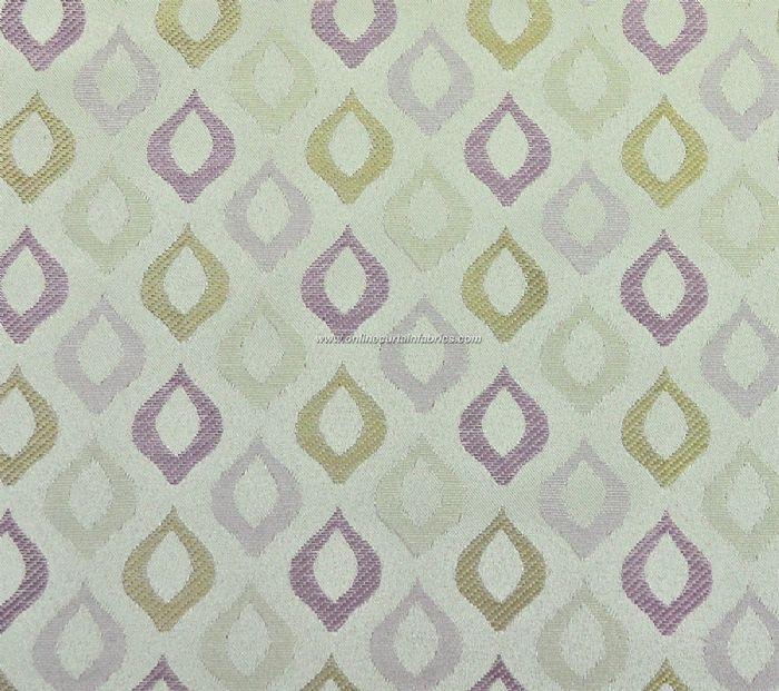 Chatsworth Fabrics Citrus curtain fabric in Lilac | Fabrics ...