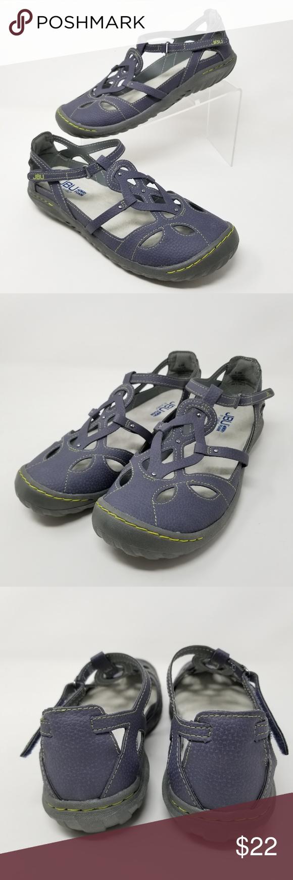 50be71a0ca94e JBU by Jambu Ladies Sydney Flat Sandals Denim Blue JBU by Jambu ...