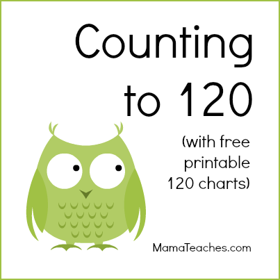 This is a graphic of Printable 120 Chart for colorful number 120