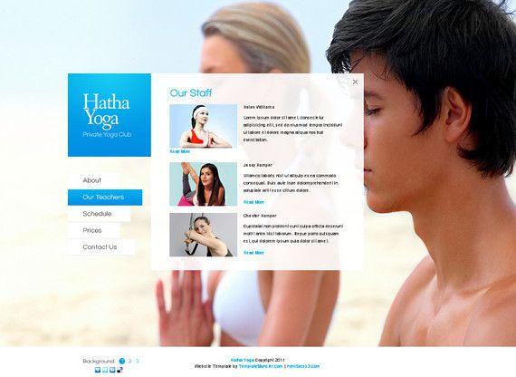 Hathayoga html5 templates,Hathayoga html template,html free