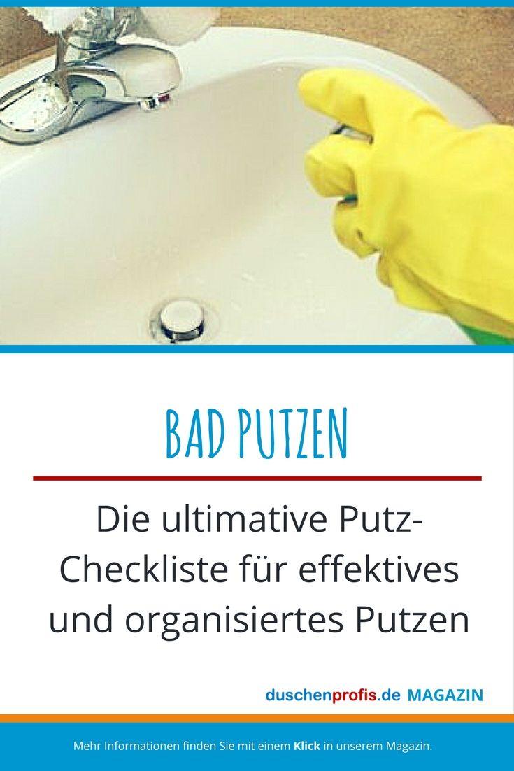 Bad Putzen Wie Sie Ihr Bad Richtig Putzen Badreinigung Tipps Richtig Putzen Badreiniger Bad