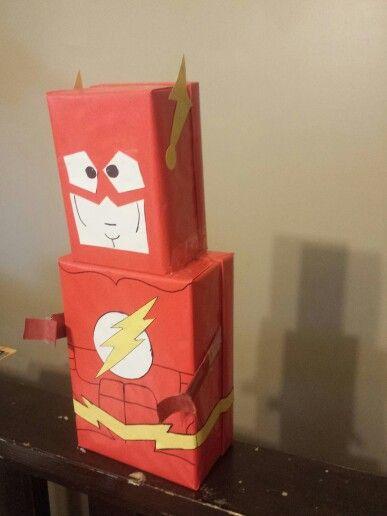 Side View Flash Valentine Box Valentine Box Hero Crafts