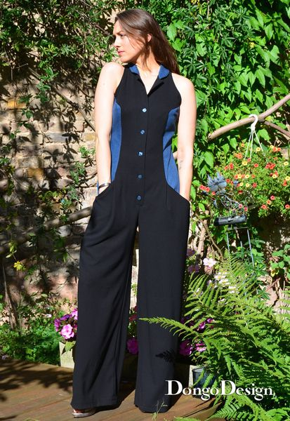 Schnittmuster Jumpsuit Overall Jenny Pdf E-Book von DongoDesign auf ...