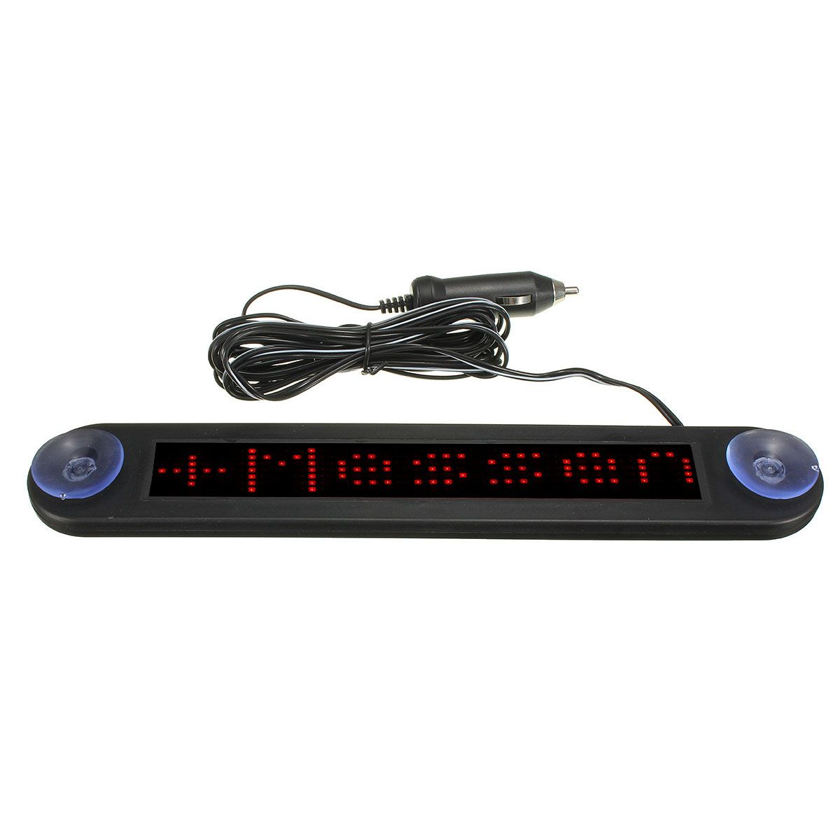New 12v Led Car Programmable Message Sign Moving Scrolling Display Board W Remote Red Car Electronics 12v Led Car