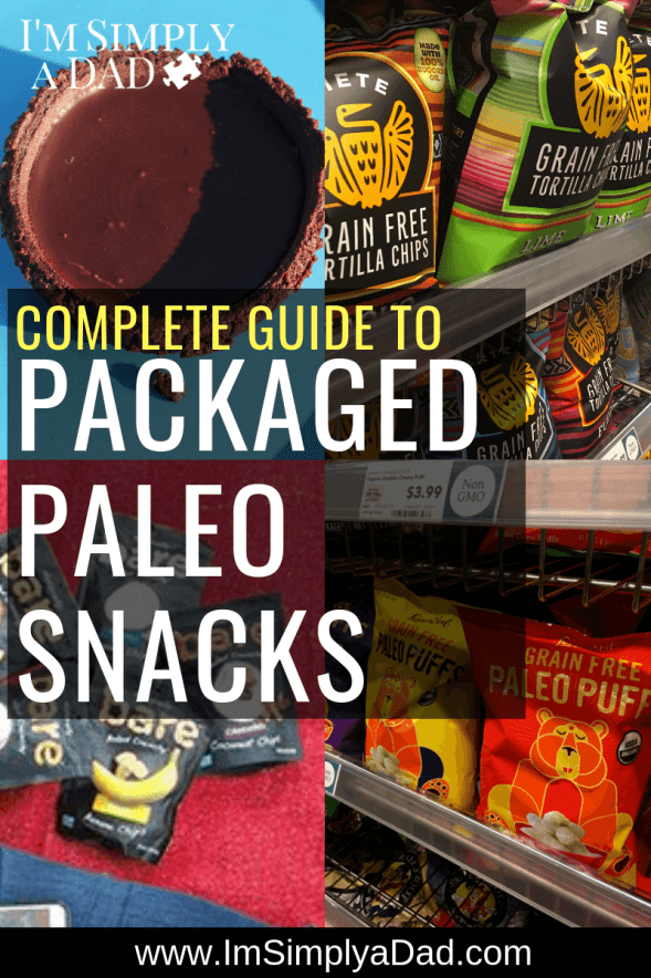Packaged Paleo Snacks: 5 Lists of Convenient, On-the-Go Paleo Snacks (25 snack options images