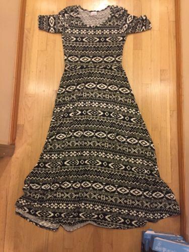 LulaRoe Ana Dress. Large. Tribal Print.  https://t.co/zLJ2AaRWRu https://t.co/NVjqD5LuAu