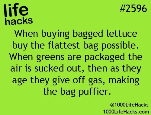 Lettuce teach you how to buy the best bags of greens!