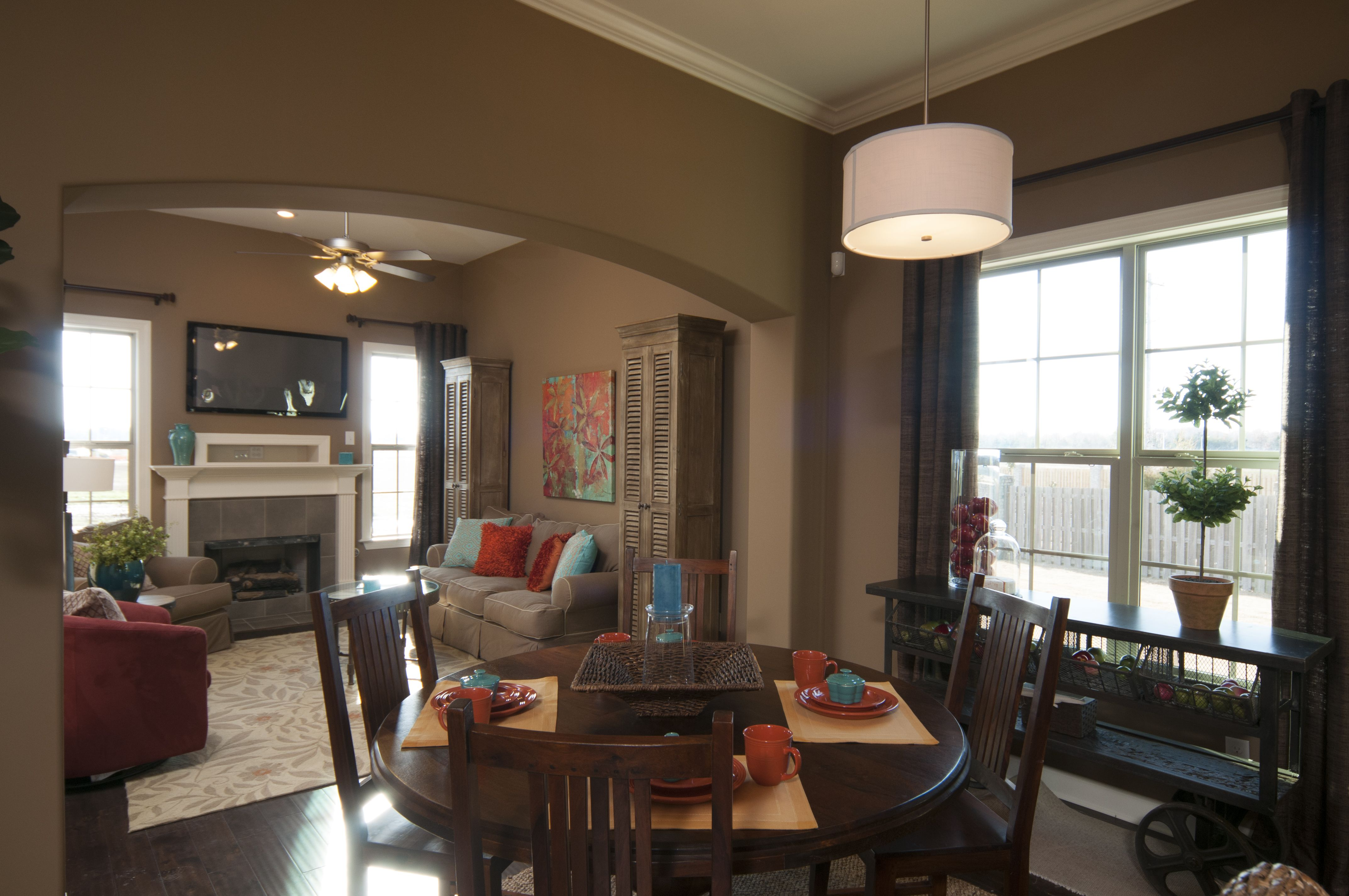 regency homebuilders eat in kitchen table breakfast nook open
