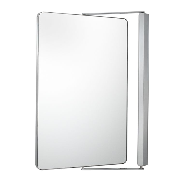 Metro Mirror Chrome Designed With Serenity And Incorporating