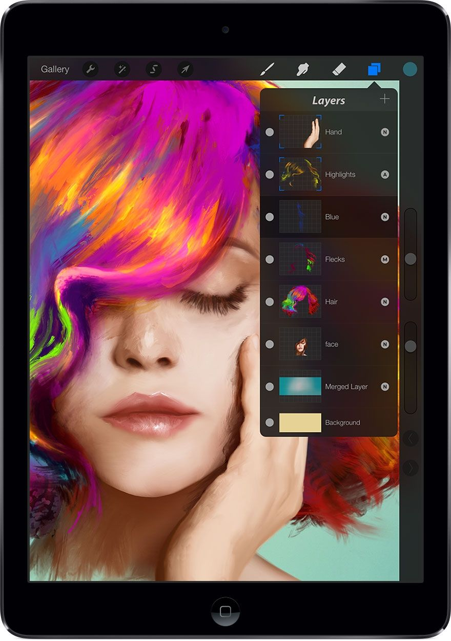 Procreate 2 brings GPU accelerated filters, 4K canvases