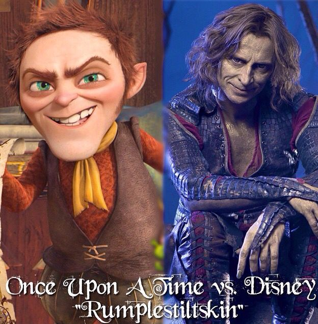I hate to nitpick but that is not DISNEY Rumple. That is the Rumple from Shrek....which is Dreamworks and there's nothing a true Disnerd hates more than Dreamworks.
