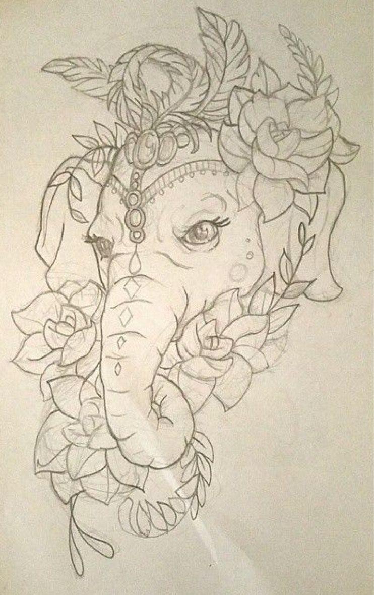 Pin de My Info en tattoo | Pinterest | Tatuajes, Dibujo y Elefantes