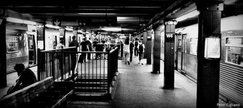 NYC Subway #JCREW #MYSHOESTORY