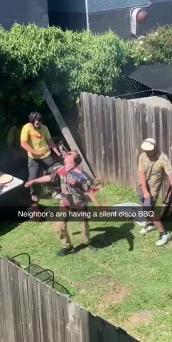 Gotta respect their mindfulness of the Neighbors