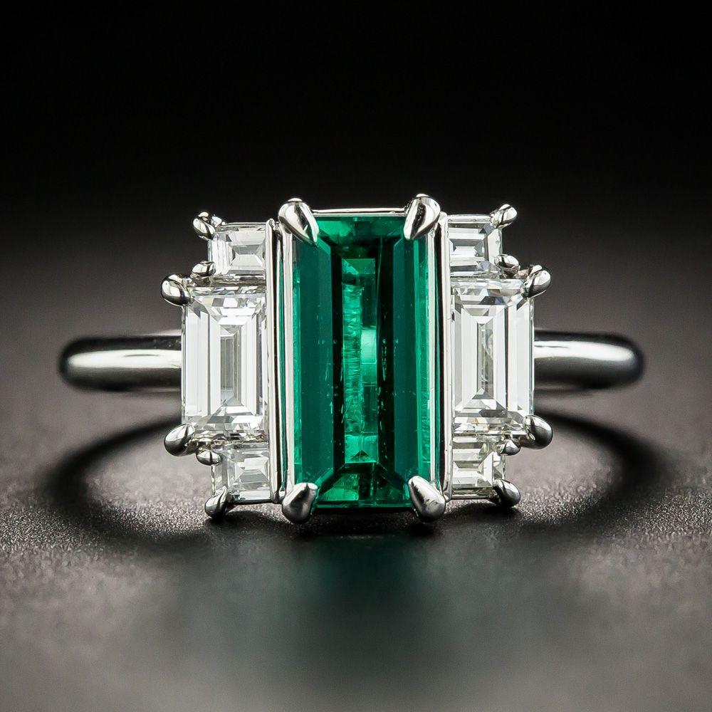 This Geometrically Designed Art Deco Influenced Estate Jewel Features A Gorgeous Elegantly Elongated Crystall Deco Jewelry Art Deco Diamond Art Deco Jewelry