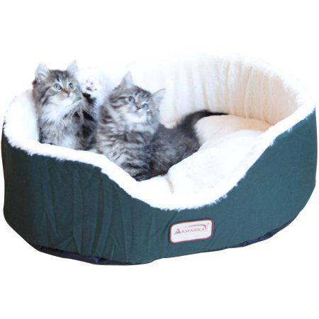 Armarkat Pet Bed, Laurel Green, Medium