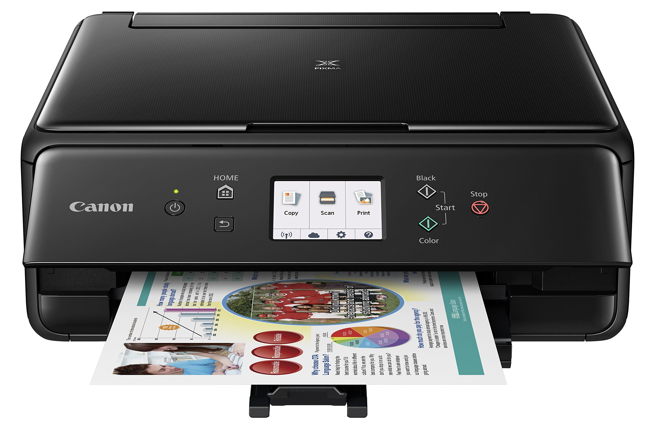Canon Compact TS6020 Wireless Home Inkjet All-in-One Printer