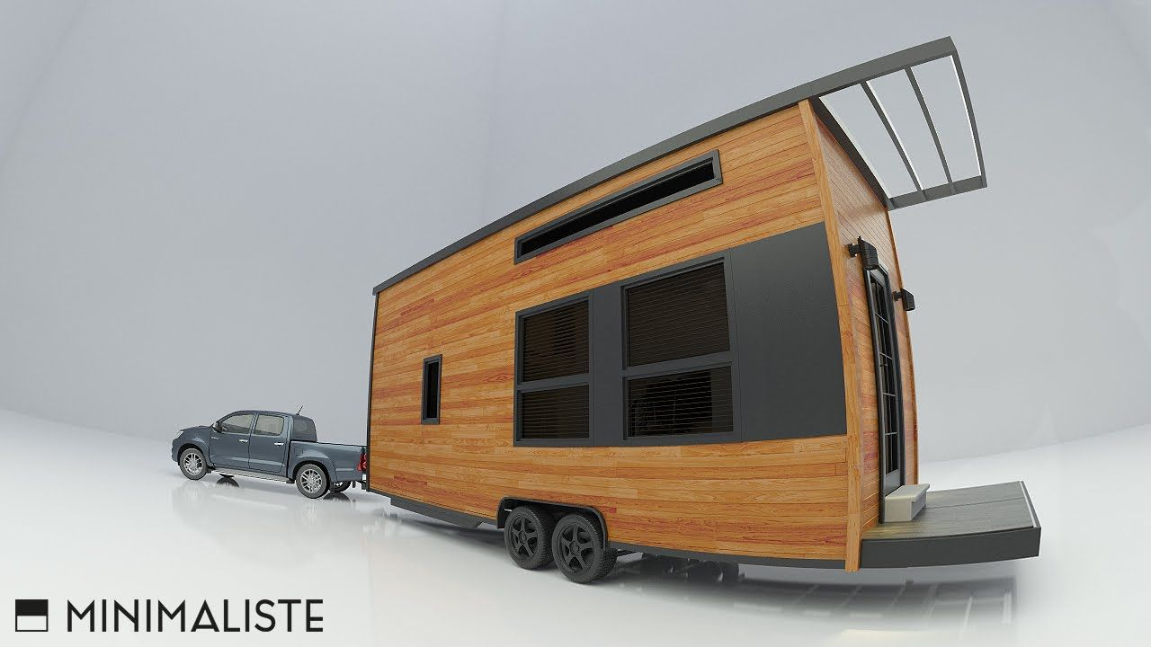 Tiny Home Designs: VERY MODERN OFF-GRID TINY HOUSE FOR SALE!