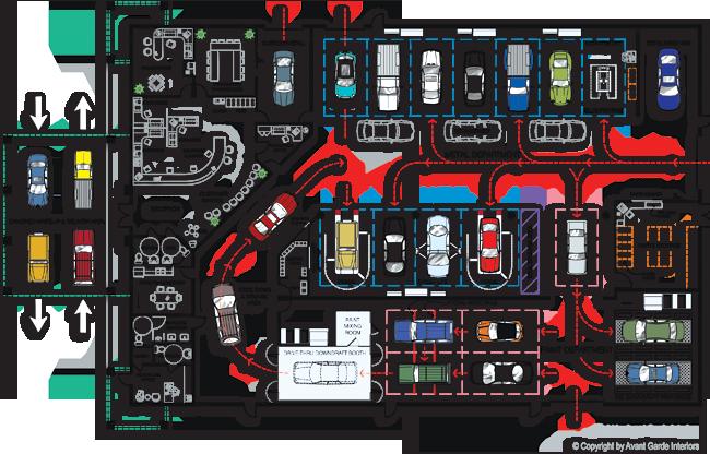 Auto Shop Floor Plan Automotive Shops Garage Floor Plans Car Shop