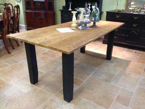 Superb Hand Crafted Reclaimed Oak Dining Table Delivered To Belle Patri Home  Furnishings In Jarrettsville, MD