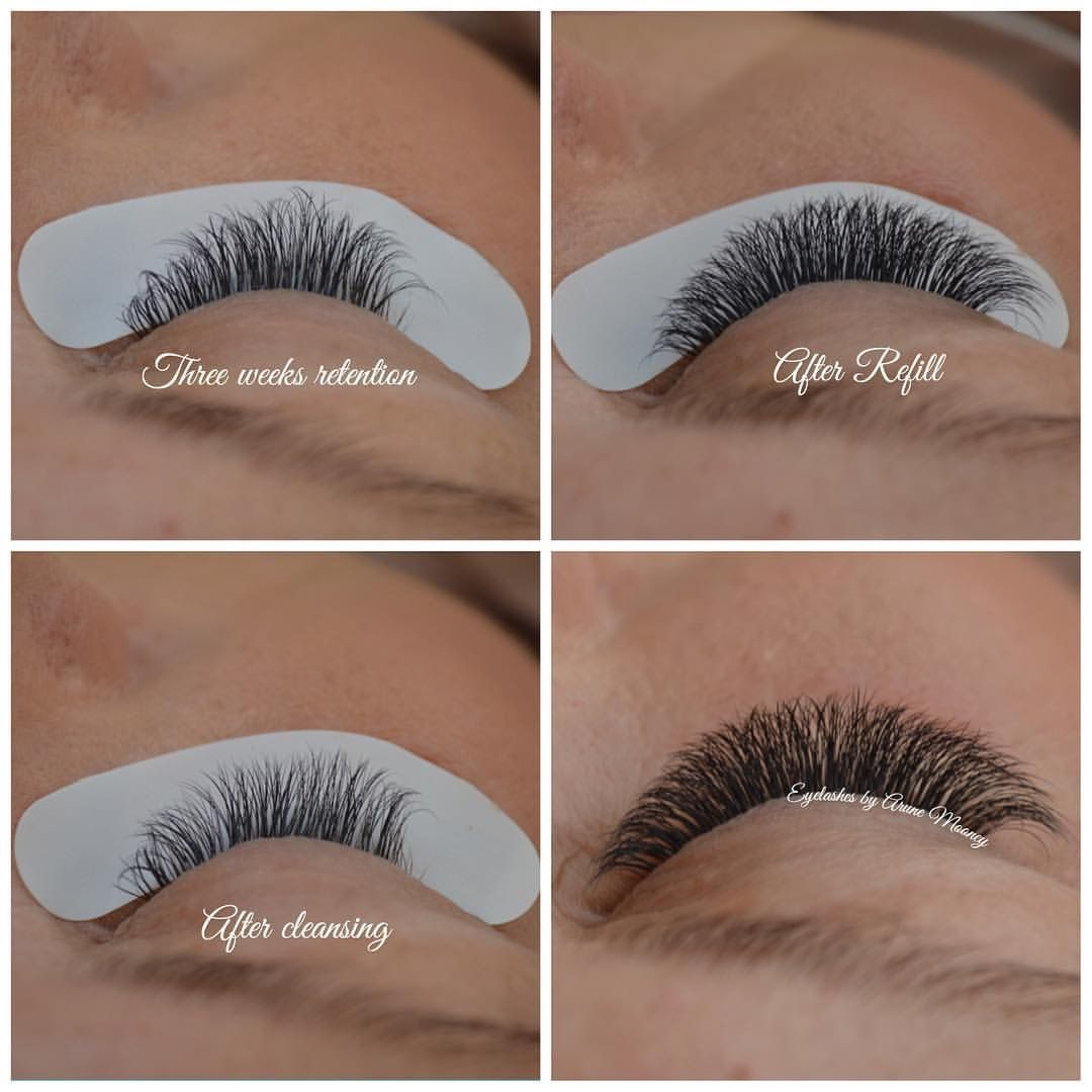 Image Result For Russian Volume Eyelash Extension Style Chart
