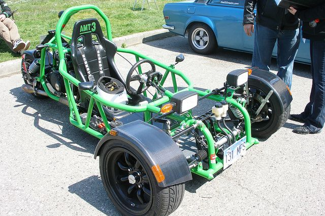 Reverse tricycle by quinet, via Flickr | Wheels and Motors