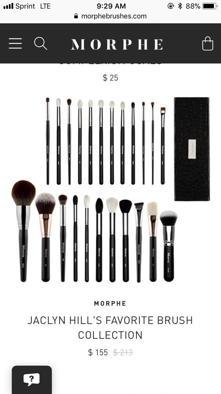 Jaclyn hill morphe brush set !!!! Makeup brushes morphe