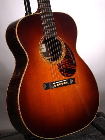 Jack Williams Sunburst Om Acoustic Guitar Guitar Acoustic Acoustic Guitar