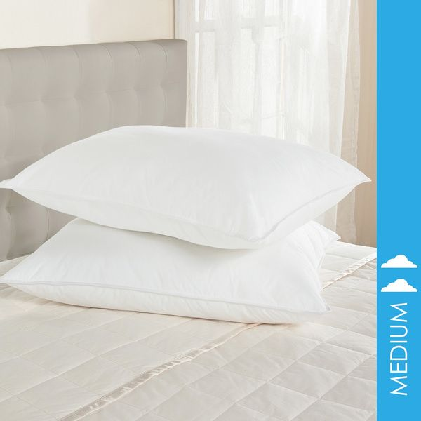 White Goose FeatherDown Body Pillow