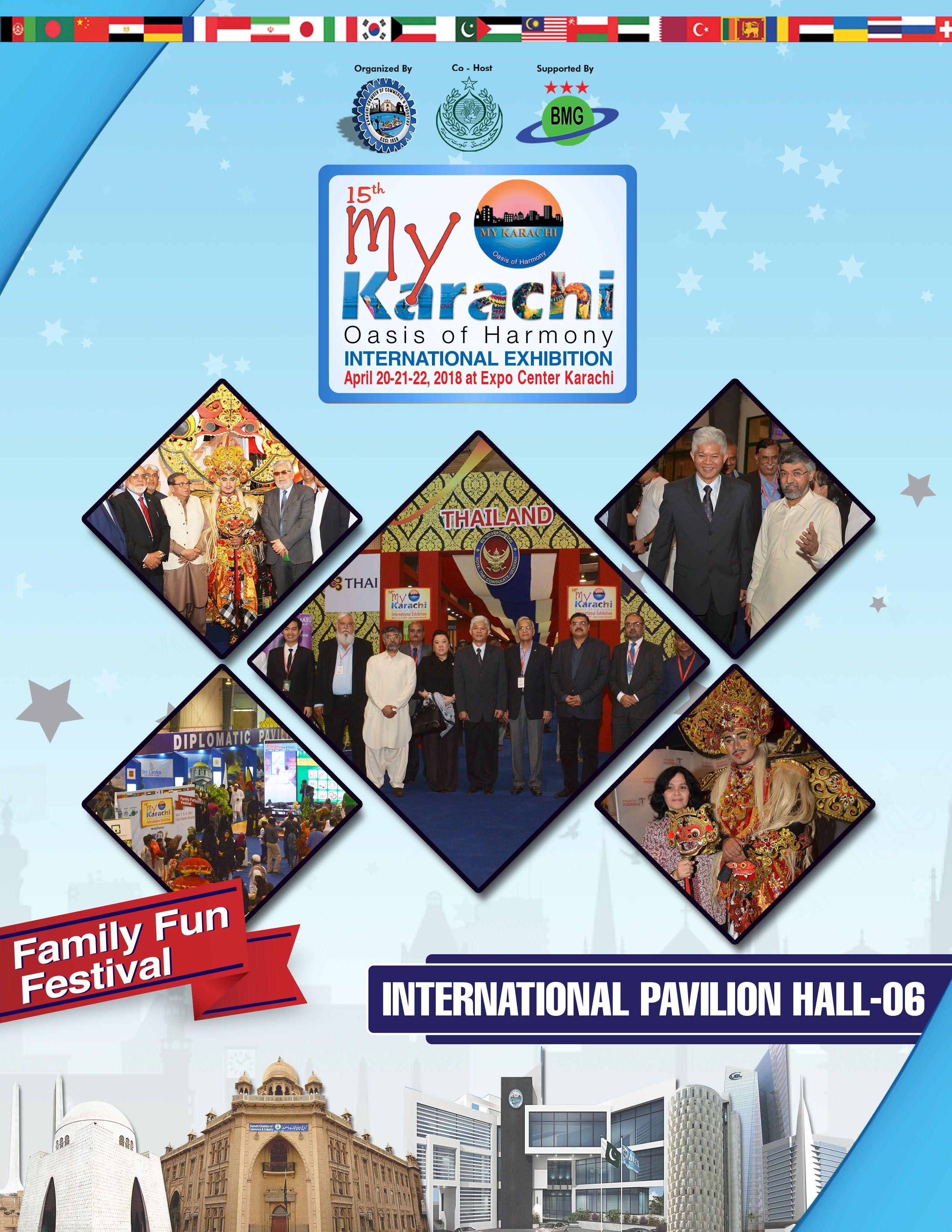 Start the Journey from Karachi to across the sea! Visit us