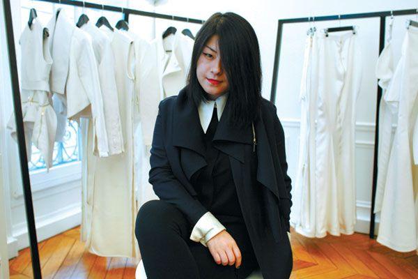 Chinese designer Masha Ma