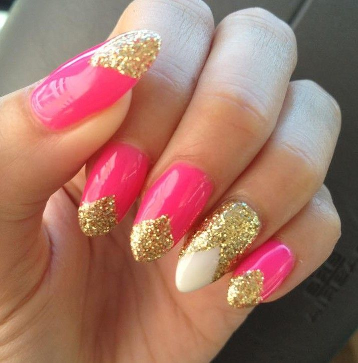 20 Pretty Nail Designs for This New Season | French nails, Stilettos ...