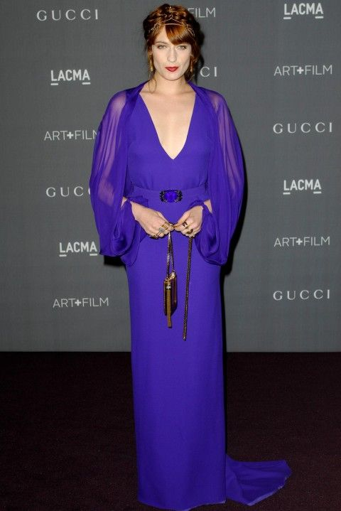 Florence Welch at the LACMA Art and Film Gala 2012 in Los Angeles