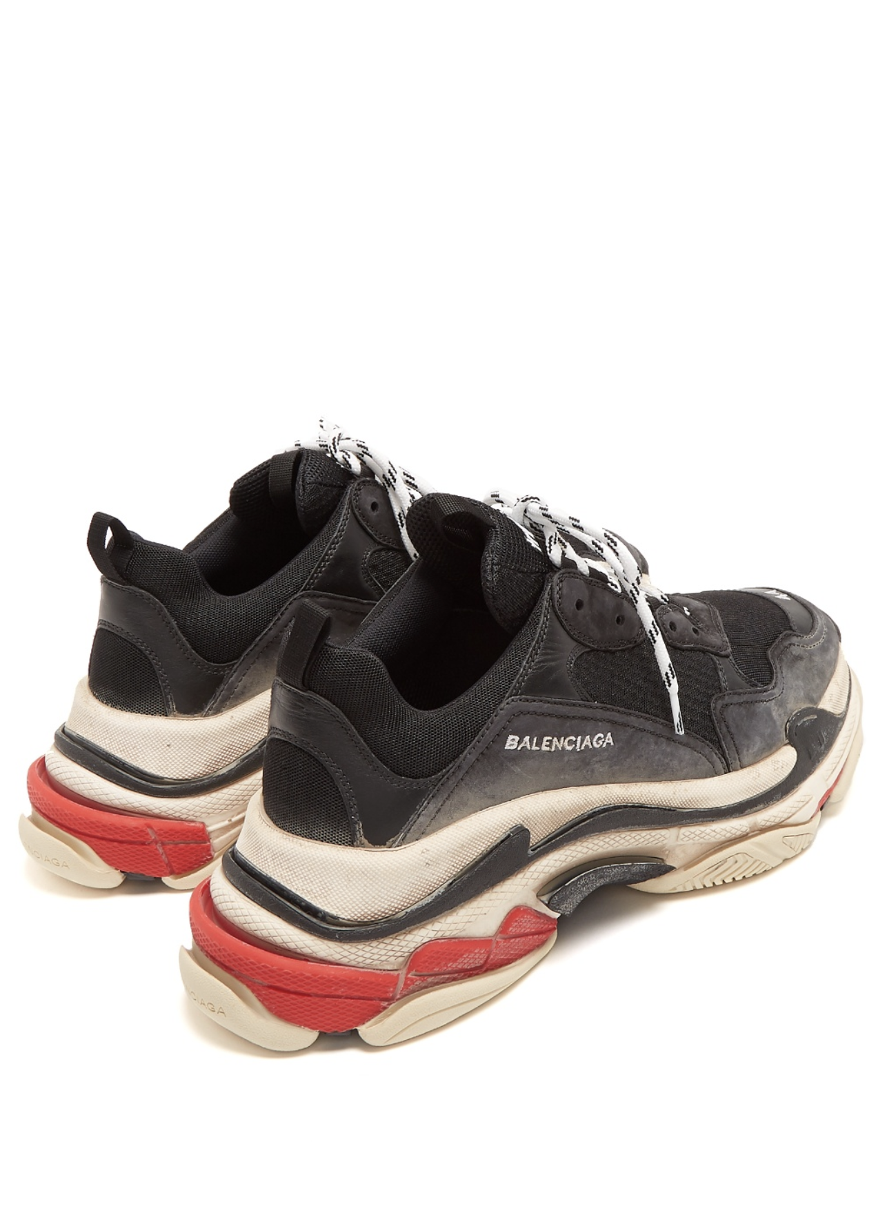 balenciaga triple s low top trainers from matches fashion men style fashion clothing. Black Bedroom Furniture Sets. Home Design Ideas