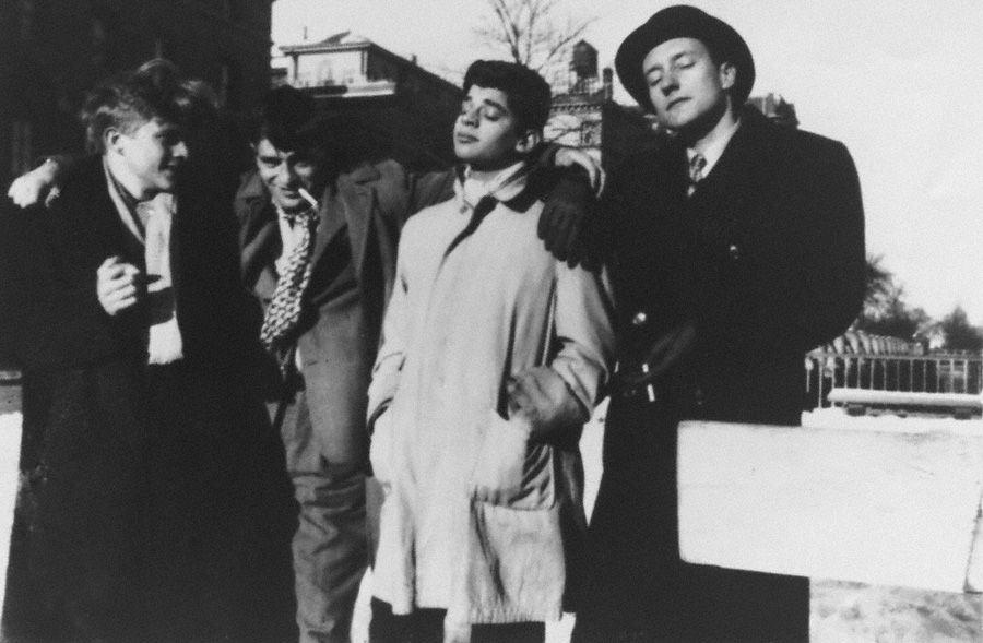 Jack Kerouac, Allen Ginsberg and William S. Burroughs by Allen Ginsberg, C. 1944/ 1945