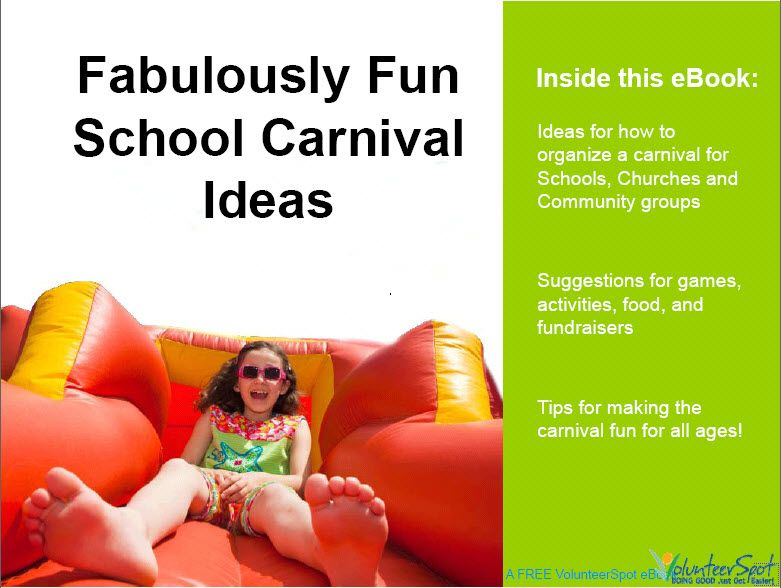 Carnival games and idea's for PTO