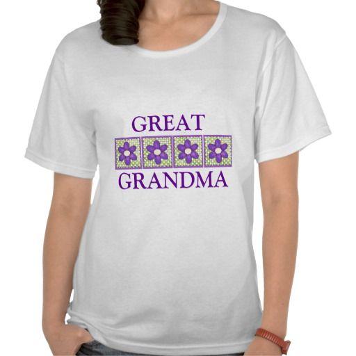 Great Grandma Ladies Top T-shirts