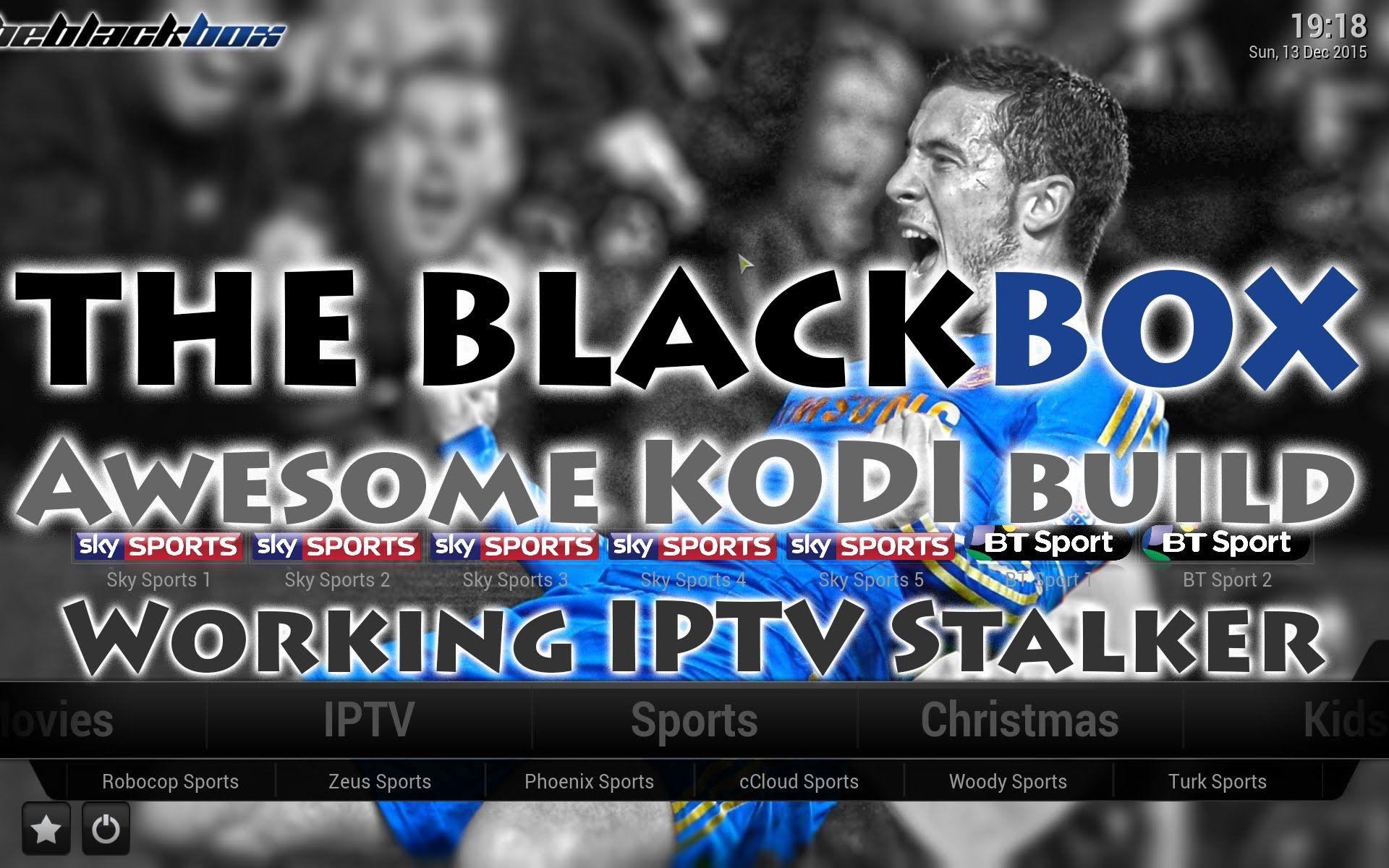 How to install BlackBox Build on KODI working iptv stalker