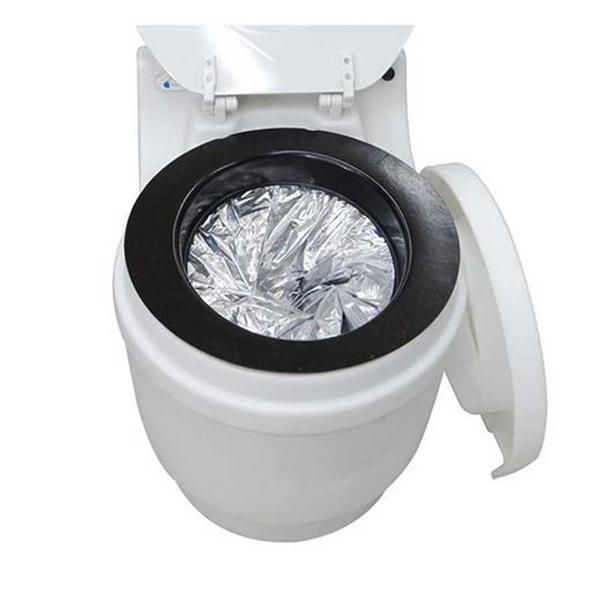 DryFlush Laveo Portable Toilet Is Simple To Use And Maintain U2013 A Bag Wraps  Up The Waste With Every U0027flushu0027. No Plumbing Hook Up Is Required.