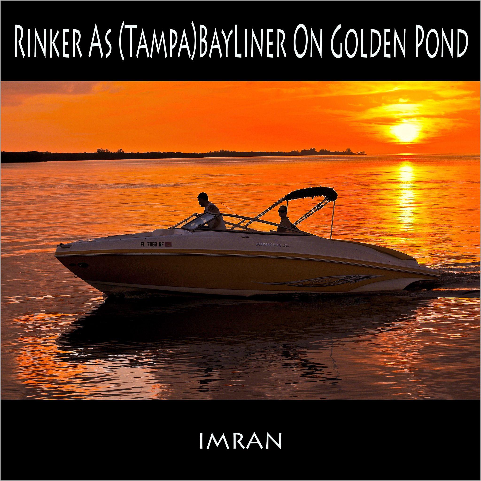 I See Rinker As Tampa Bayliner On Golden Pond Imran On Golden Pond Florida Weather Pond