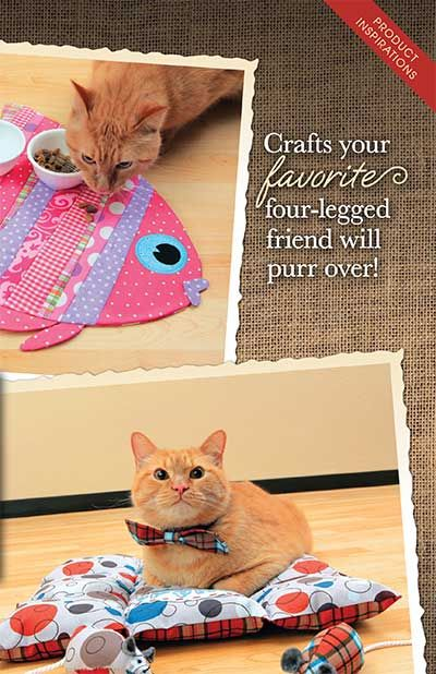 Crafts your favorite four-legged friend will purr over! We've got