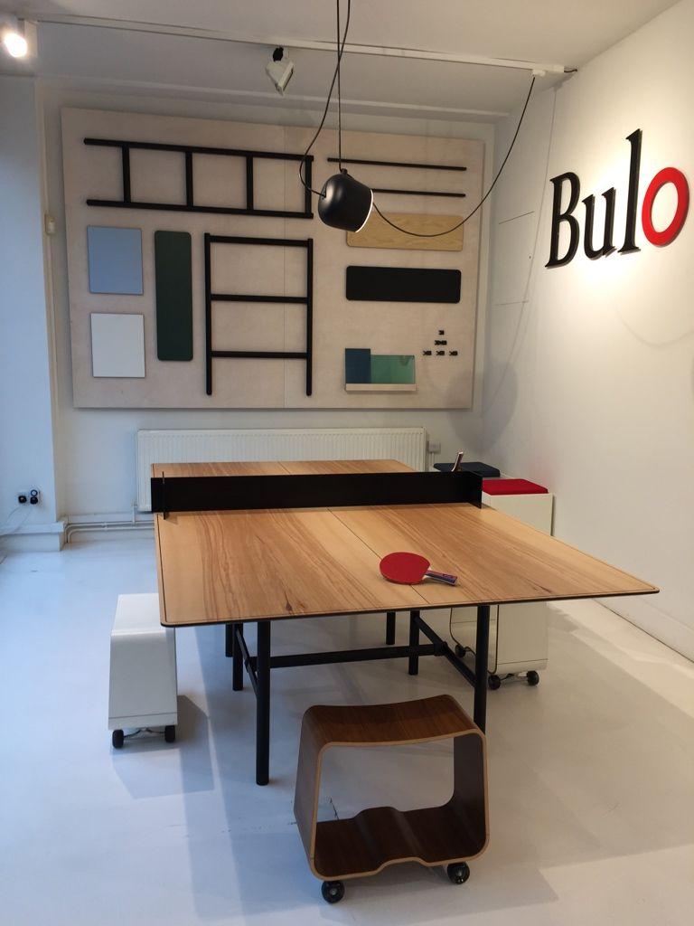 DAN pingpong table by Bulo Designers Bulo CollectionsDan