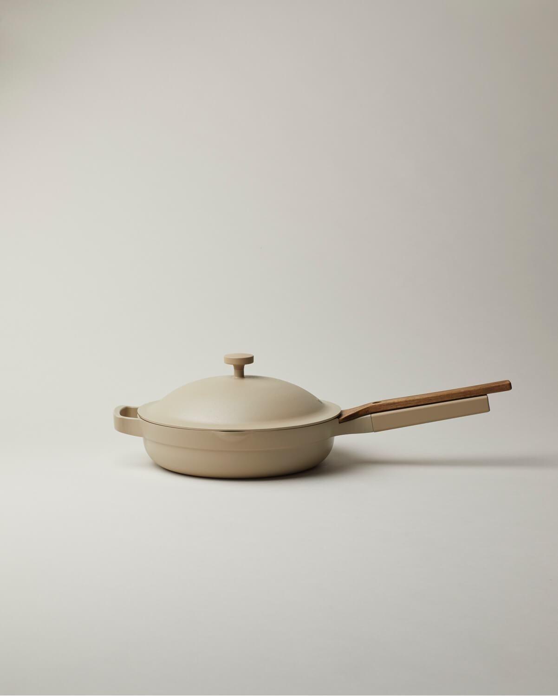 The Best Multi Purpose Cooktop Pan Non Stick Ceramic Always Pan Our Place Ceramic Non Stick Ceramics Ceramic Coating