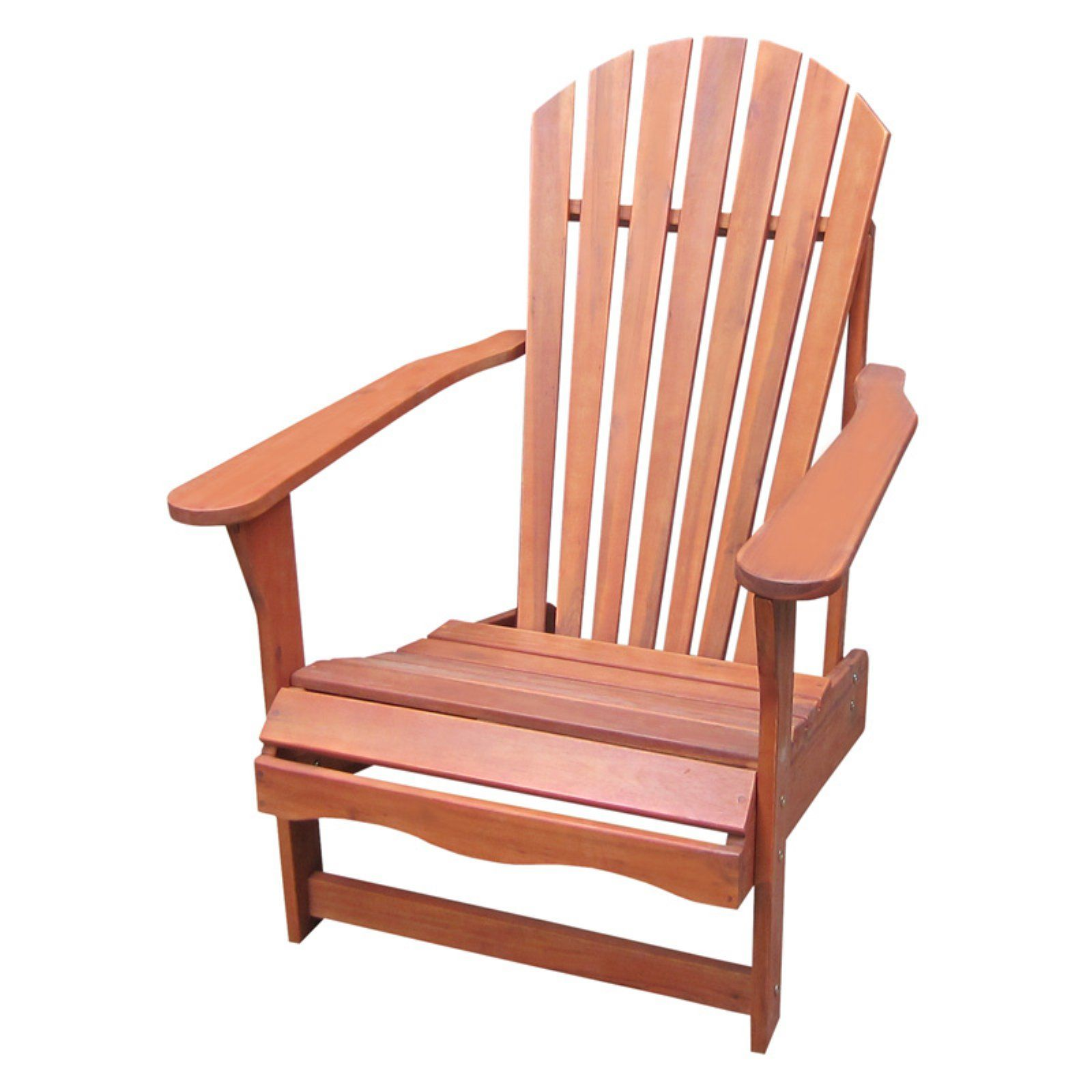 Outdoor International Concepts Acacia Wood Adirondack Chair Wood