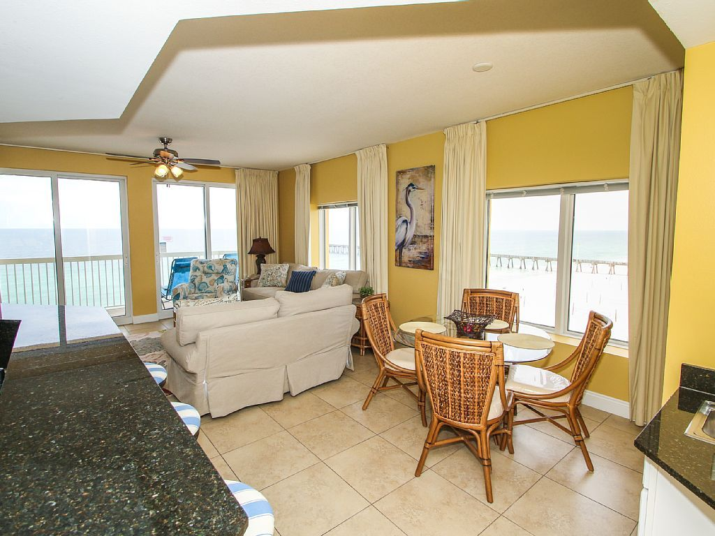 3 bedroom 3 bath calypso west end unit vrbo - 3 bedroom condos panama city beach fl ...