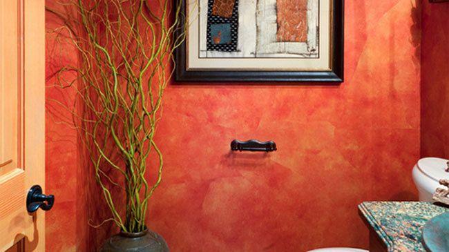 Efectos de pintura en paredes 5 papel rasgado paredes - Pinturas especiales para paredes ...